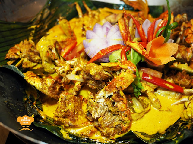 Ketam Masak Kalio One World Hotel Bandar Utama Cinnamon Coffee House