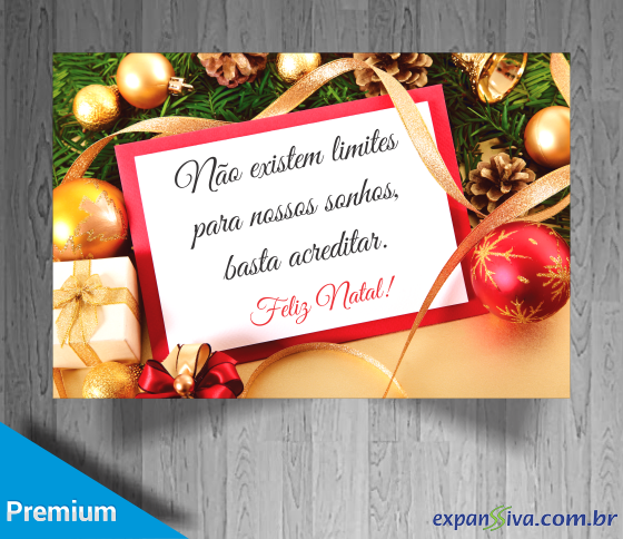 cartão de natal personalizado para empresas gratis