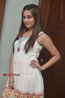 Telugu Actress Anu Emmanuel New Stills in Beautiful White Long Dress  0003.JPG