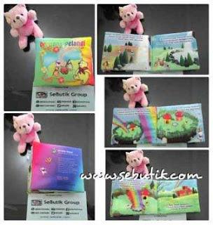 Gambar Buku Bantal Anak Beruang Pelangi
