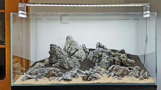 Beberapa Jenis Batu Yang Sering Dipakai Untuk Aquascape
