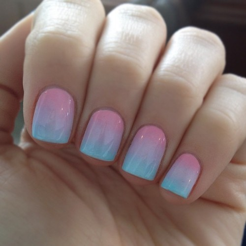 Ombre Nails Selber Machen Mr Moustache