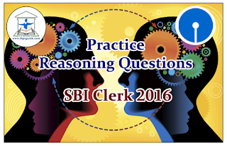 SBI Clerk Prelims 2016- Practice Reasoning Questions (Seating Arrangement)