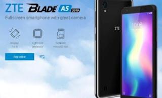 2 Cara Hard Reset ZTE Blade A5 2019