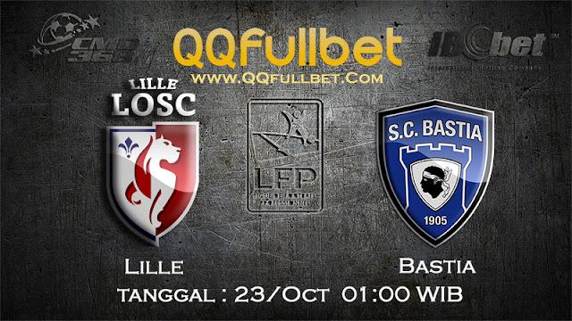 PREDIKSI BOLA LILLE VS BASTIA 23 OKTOBER 2016 (LIGA FRANCE)