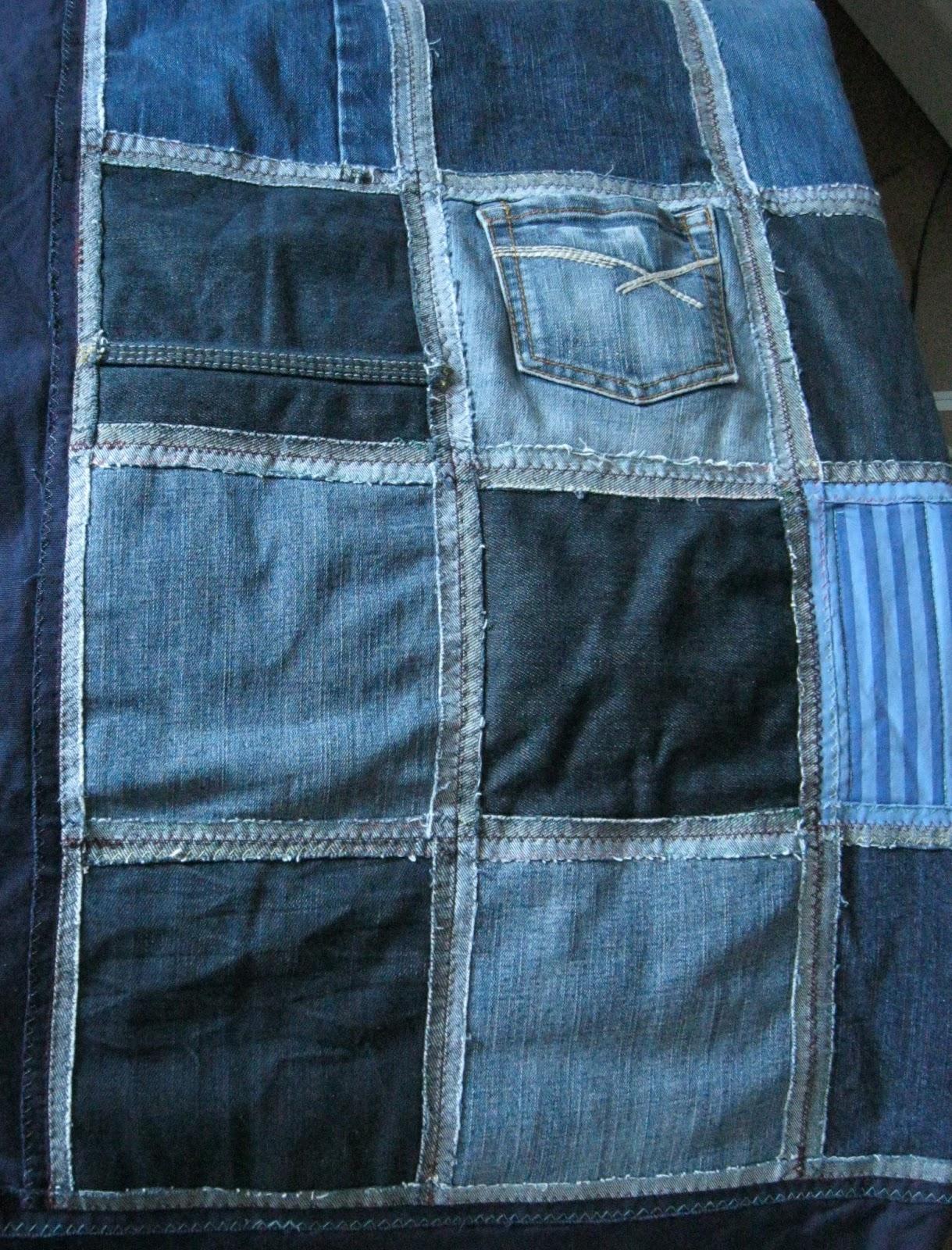 wellness an der n hmaschine patchworkdecke aus jeanshosen aus alt mach nochmal neu. Black Bedroom Furniture Sets. Home Design Ideas