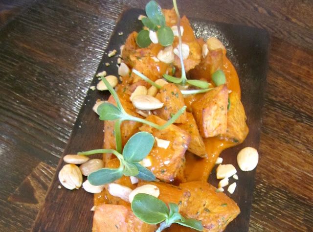 Sweet Potato Bravas served at Three Degrees, Portland, Oregon