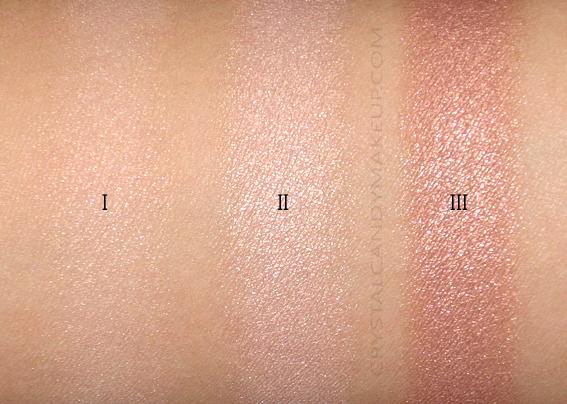 NARS Rêve Salé Cheek Palette Swatches Highlighting Powders