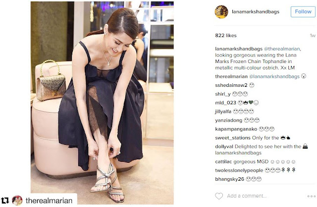SEE: Marian Rivera Is The First-Ever Filipino To Have The Princess Diana Handbag! What Does It Looks Like? See Here!