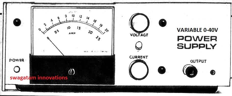 0-40v power supply circuit