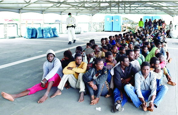 african migrants nigerians rescued