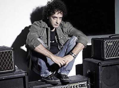 Foto de Gustavo Cerati fuera de los escenarios