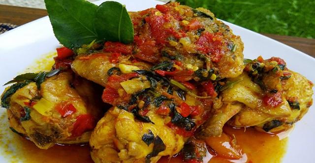 Resep Ayam Woku Bakar Paling Sip
