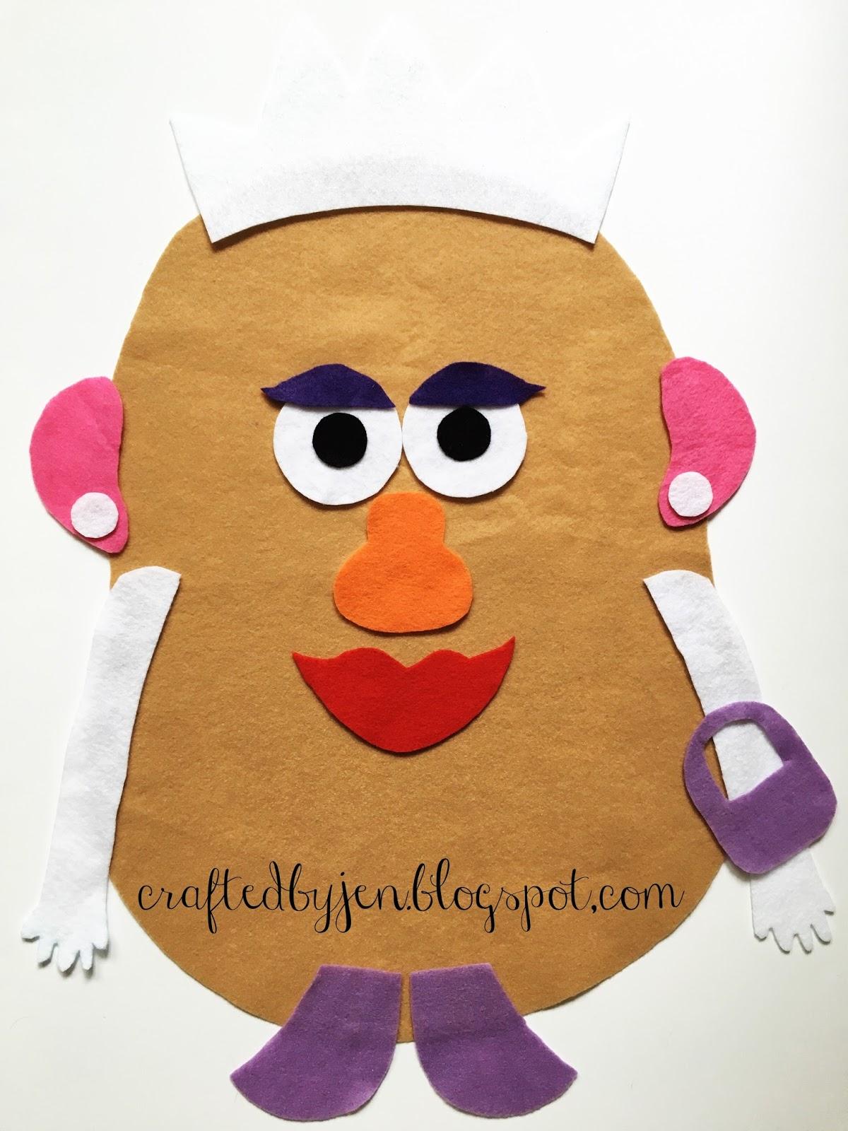 Diy Mr Potato Head Busy Board
