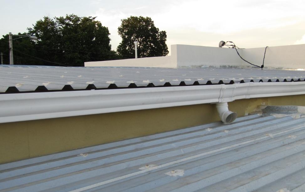 Canaletas para techo