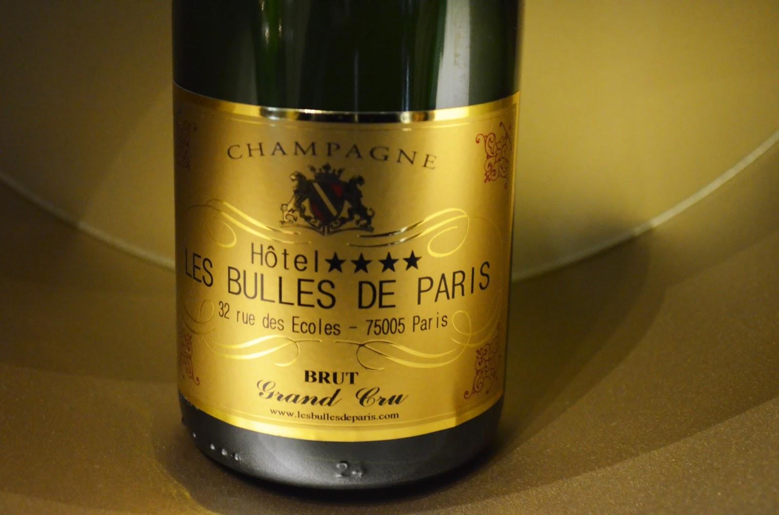 le bar champagne de l 39 h tel les bulles de paris parisian touch. Black Bedroom Furniture Sets. Home Design Ideas