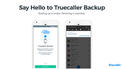 Truecaller now allows you to backup and restore contacts to Google Drive ~ Quick Support Me
