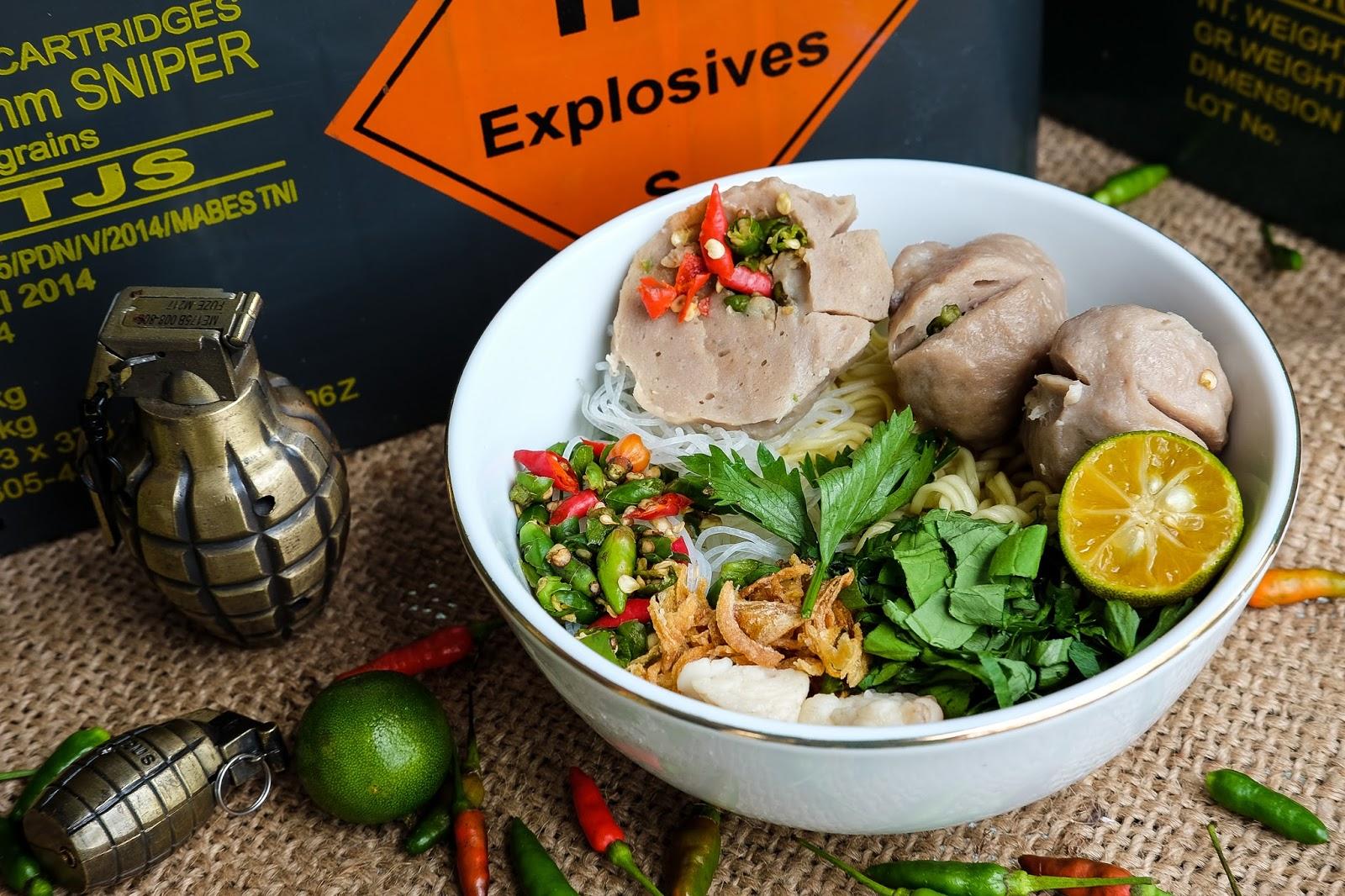 Hasil gambar untuk bakso granat mas azis