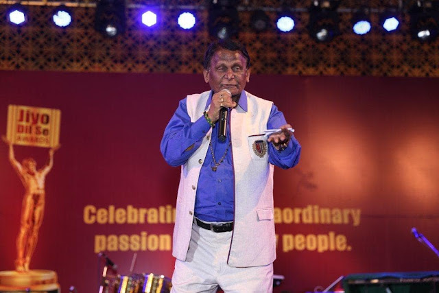 Dr. Surendra Dubey While Performing