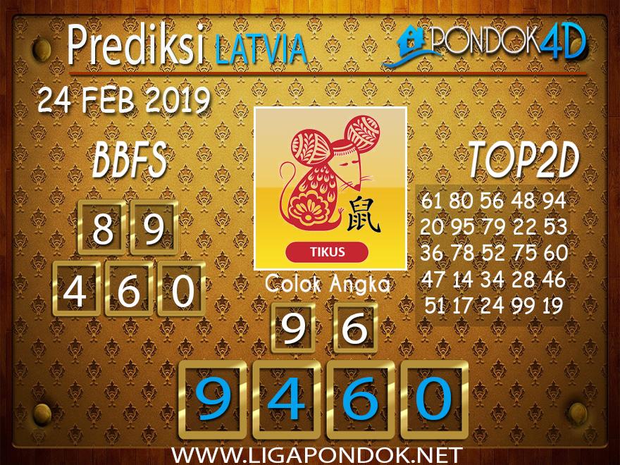 Prediksi Togel LATVIA PONDOK4D 24 FEBRUARI 2019