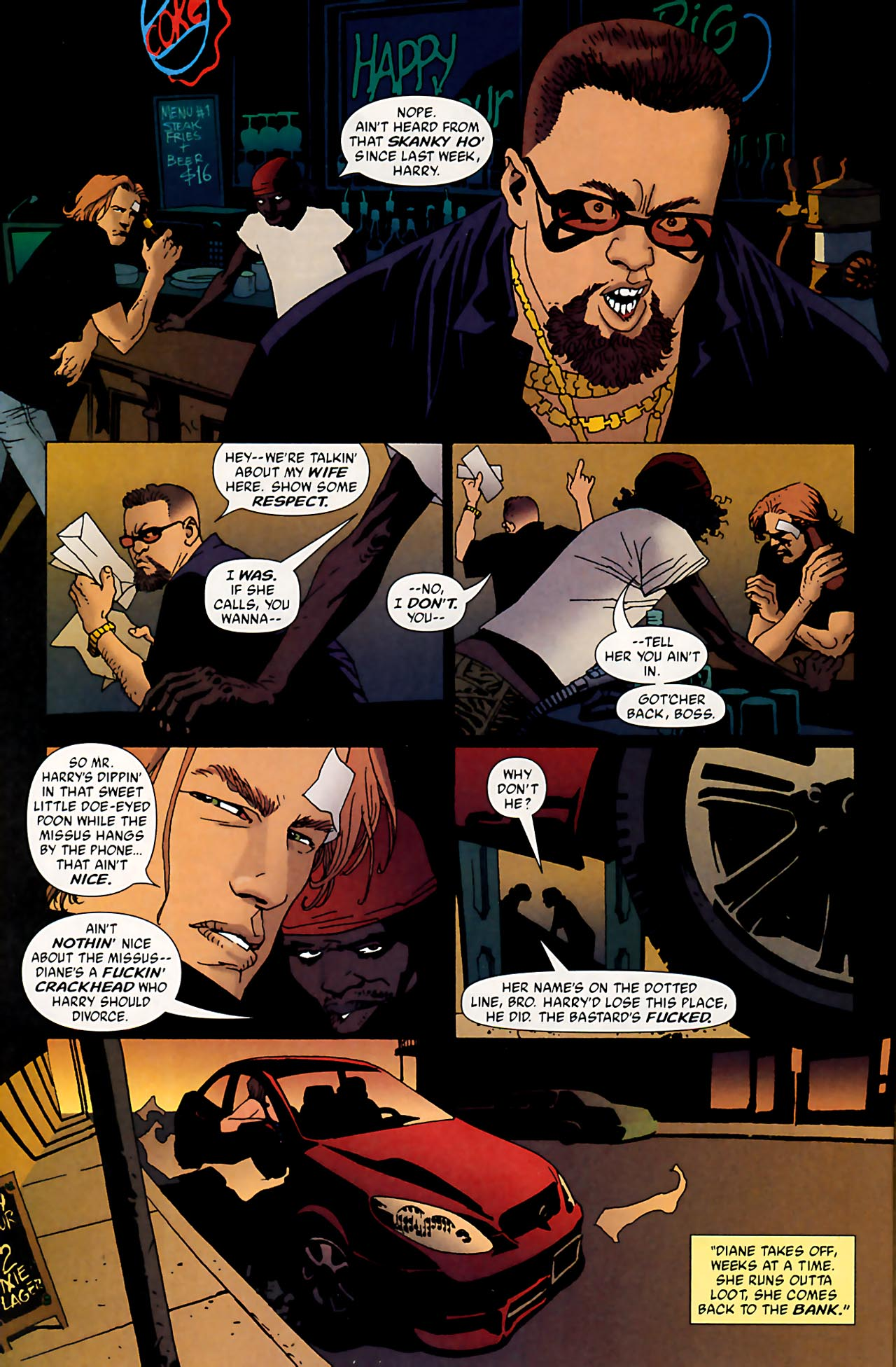 Read online 100 Bullets comic -  Issue #53 - 19