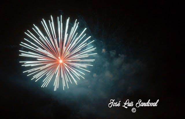 Fotos, vídeo fuegos San Lorenzo 2016, Las Palmas
