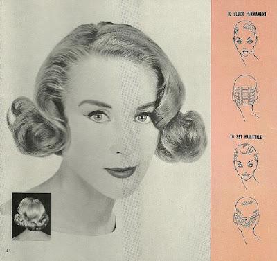 Instruções sobre como fazer pin-curls
