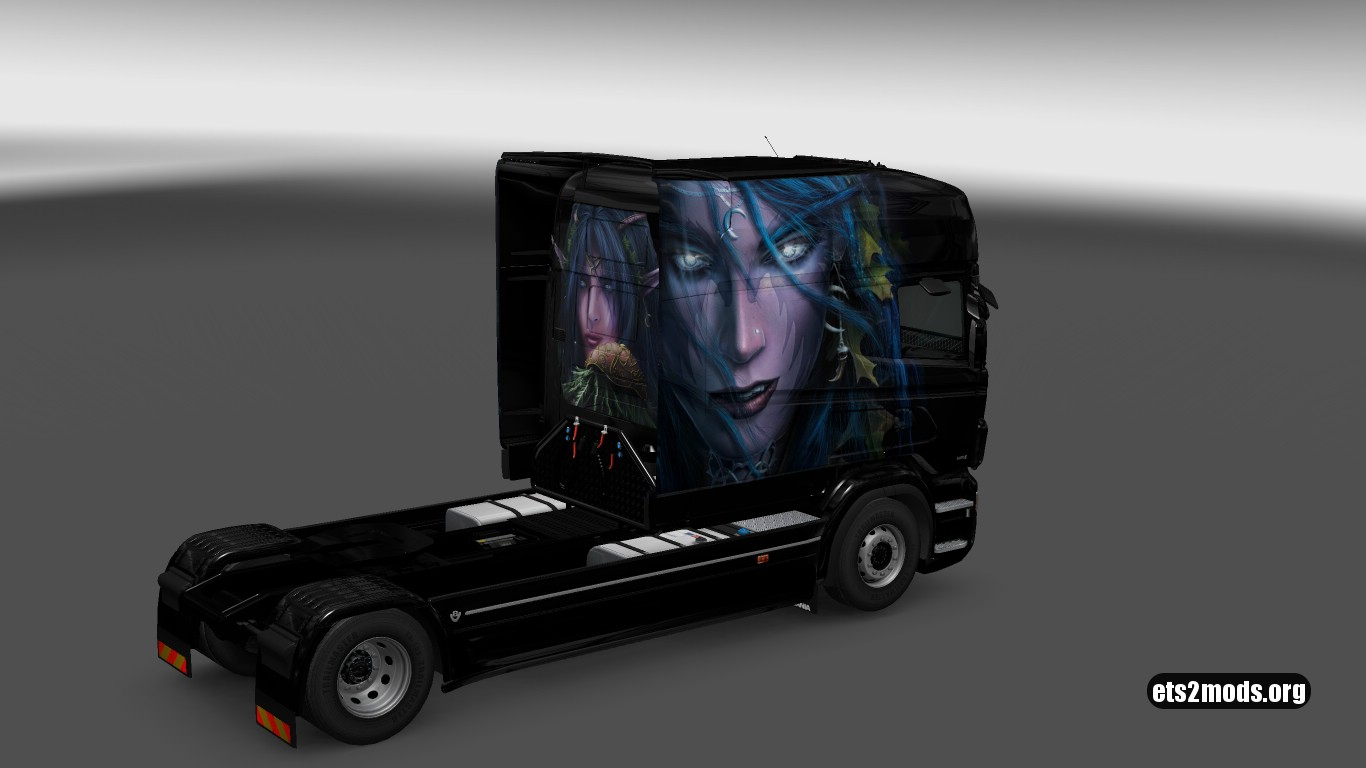 Tyrande Skin for Scania RJL