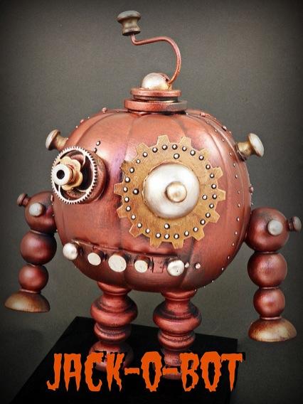 Epbot Steampunk Pumpkins Steampunkins