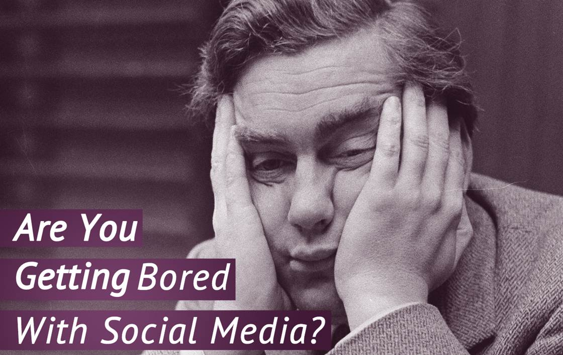 Why are We Getting Bored: Social Media Content Overload - infographic