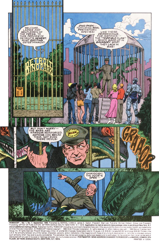 Read online Robocop (1990) comic -  Issue #7 - 2