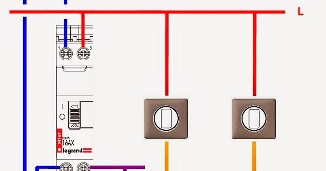 schema electrique sch ma electrique du t l rupteur. Black Bedroom Furniture Sets. Home Design Ideas
