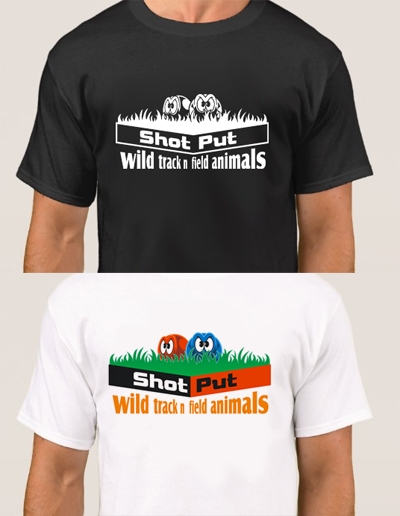 Shot Put Discus T Shirt Designs