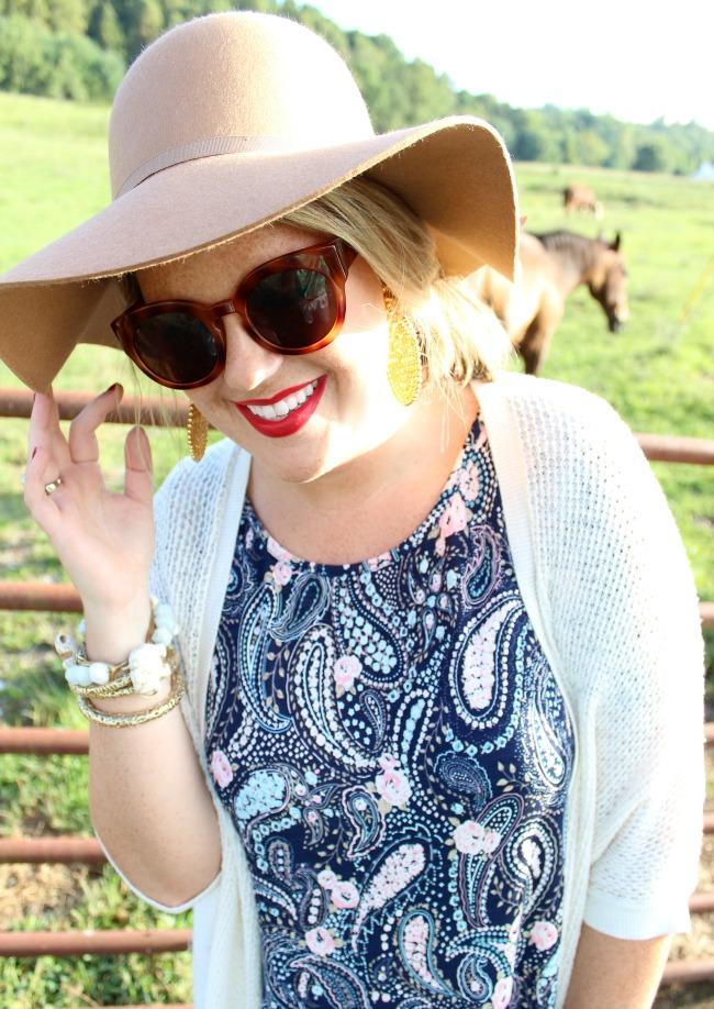 Julie Leah: Lisi Lerch Gold Disk Earrings