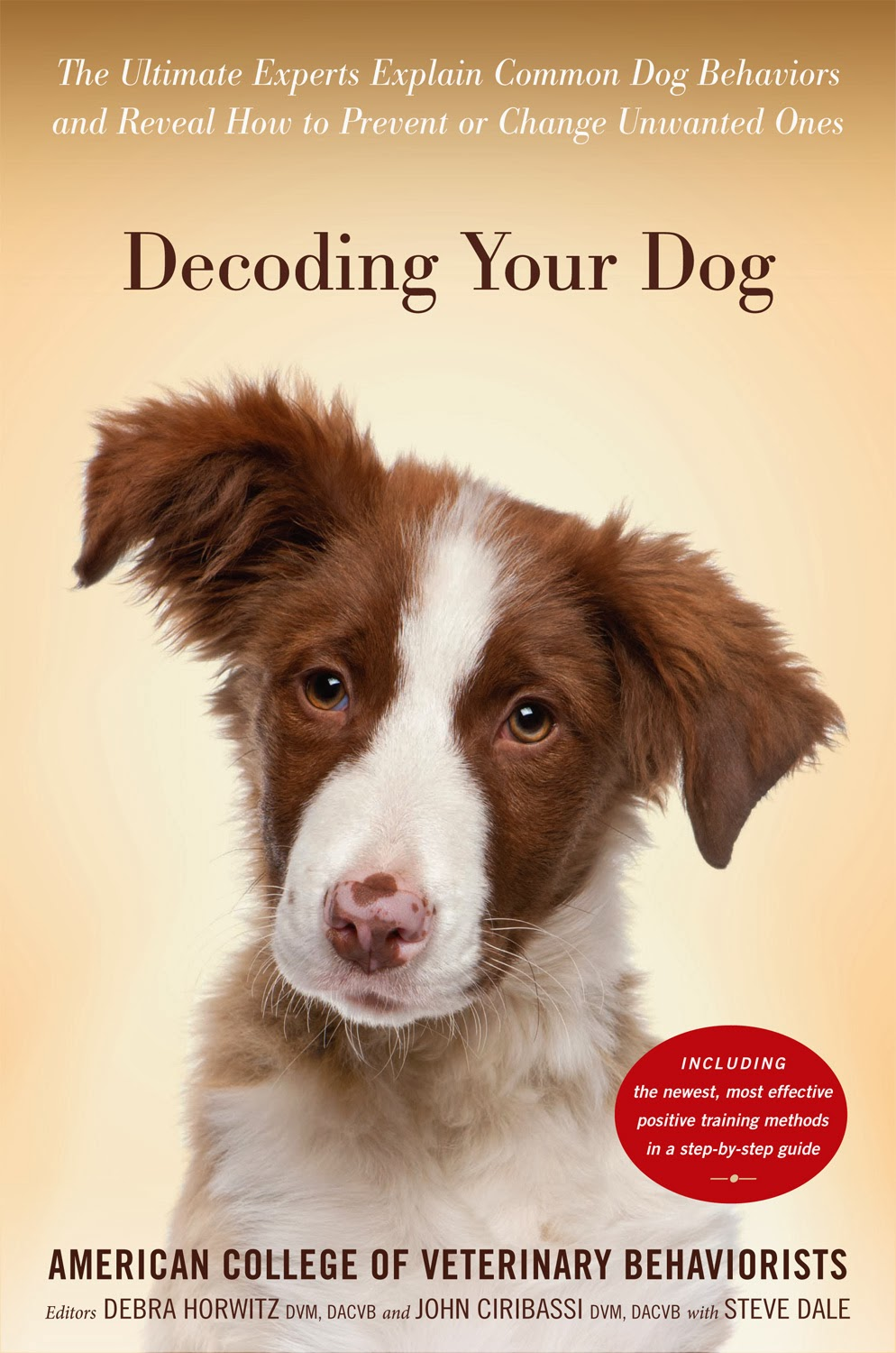 Decoding Your Dog - dog behavior book written by veterinary experts