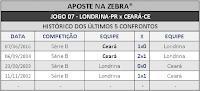 LOTECA 719 - HISTÓRICO JOGO 07