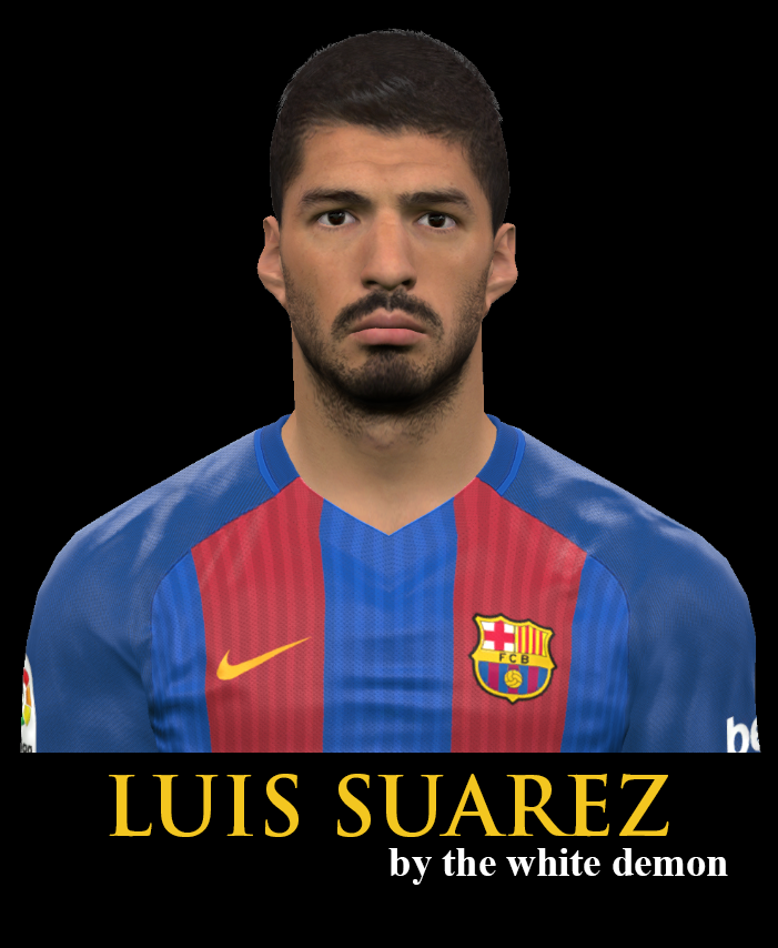 Pes 2017 Lucas Torreira Face By Sameh Momen: PES2017 Luis Suarez Face By The White Demon