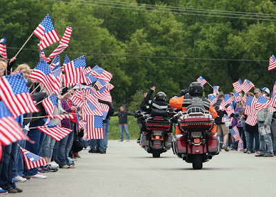 Spectators along the 2018 route are encouraged to attend one of the Ride's seven overnight stops or daily fuel stops to greet Petty and the riders, purchase memorabilia and make donations.