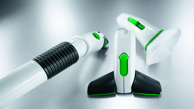 Three nozzle attachments available for the Kobold VK200