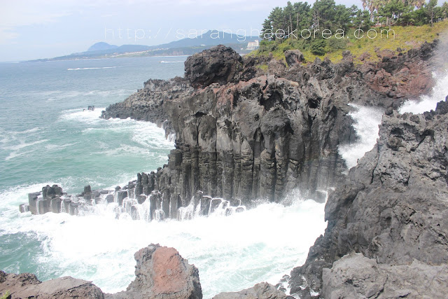 Jusangjeolli Cliff (주상절리) is Nature's Masterpiece of Jeju