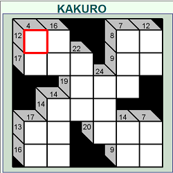 Kakuro Online (Logical Thinking Puzzle Game)