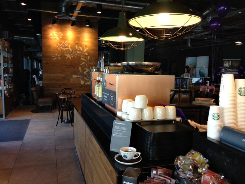 Starbucks at the Village Hotel Aberdeen