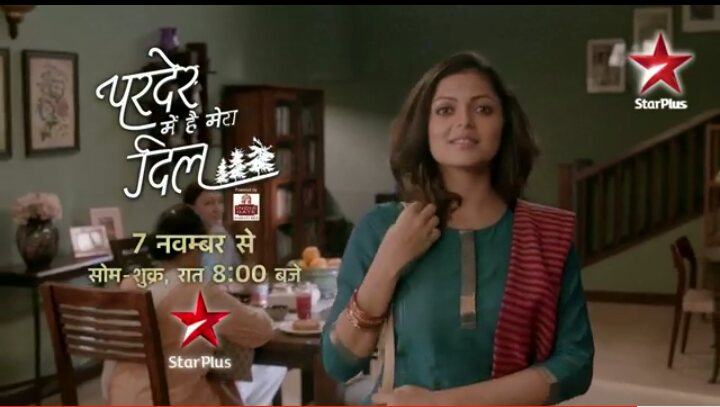Star Plus Pardes Mein Hai Mera Dil wiki, Full Star-Cast and crew, Promos, story, Timings, TRP Rating, actress Character Name, Photo, wallpaper