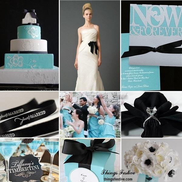 Tiffany Blue And Black Wedding Ideas