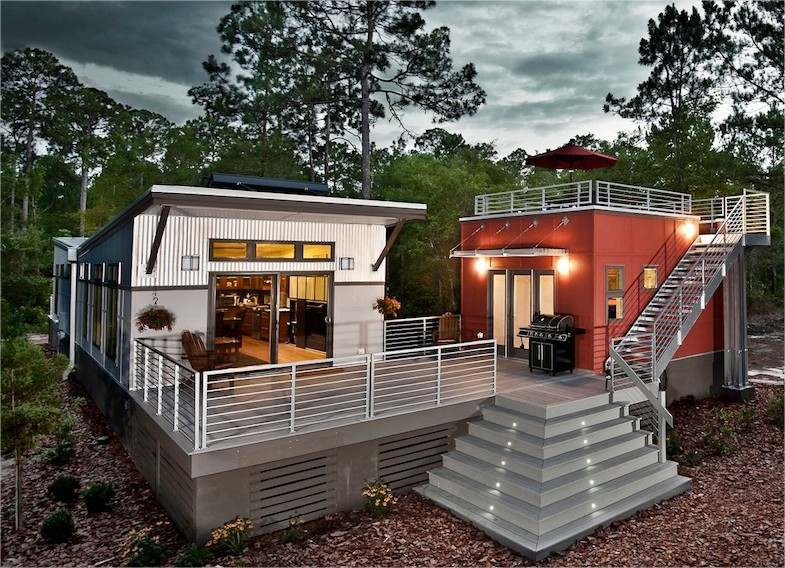 Plans building prefab shipping container home container home for Container home designs australia