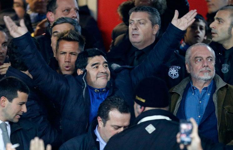 """Maradona: """"Moj Napoli bi postigao četiri gola ovom Juveu"""""""
