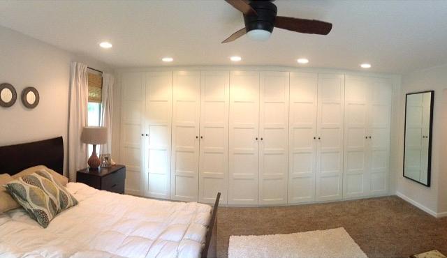 The Ranch We Love Ikea Pax Wardrobe Wall