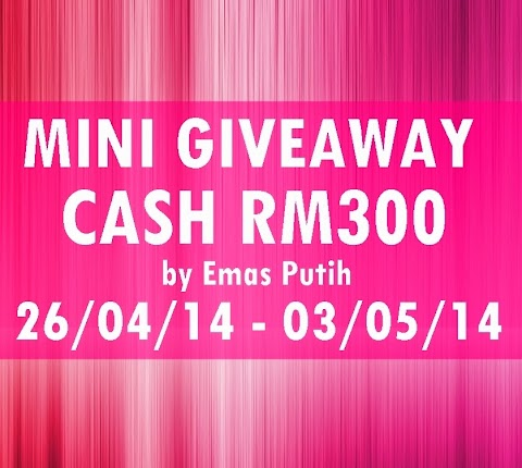 Mini GA Cash RM350 by Emas Putih #part2