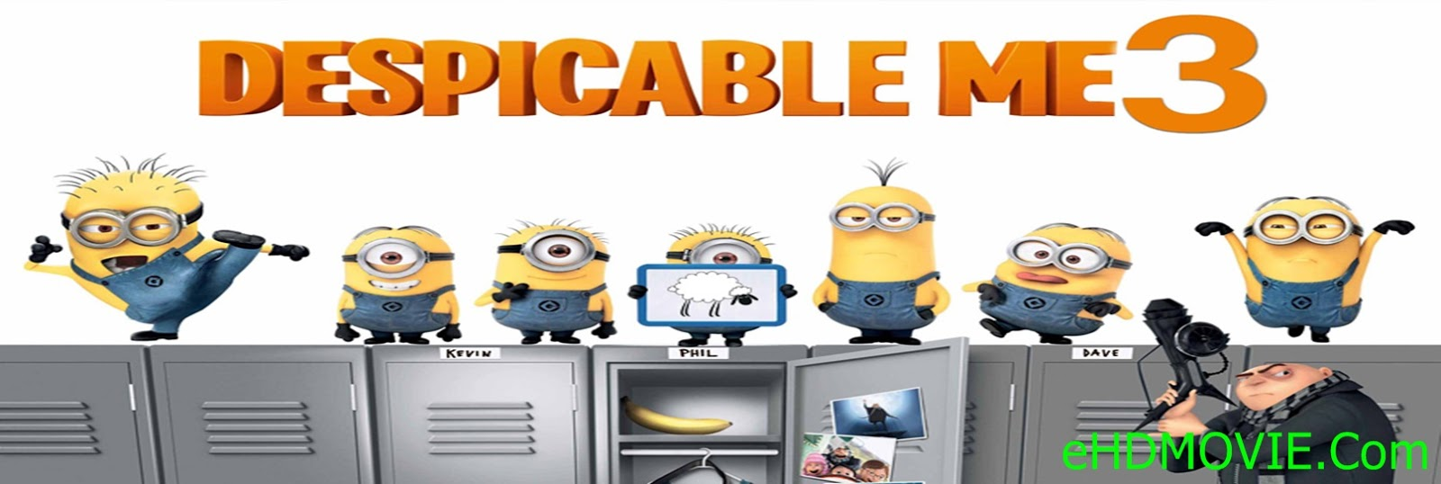 Despicable Me 3 2017 Full Movie Dual Audio [Hindi – English] 720p - 480p ORG BRRip 300MB - 750MB ESubs Free Download