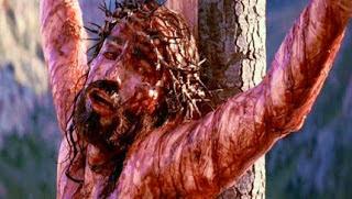 Jesus Christ crucifies